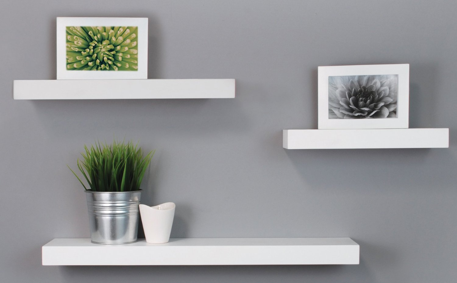 Outstanding White Wall Shelves Top 20 White Floating Shelves For Home Download Free Architecture Designs Remcamadebymaigaardcom